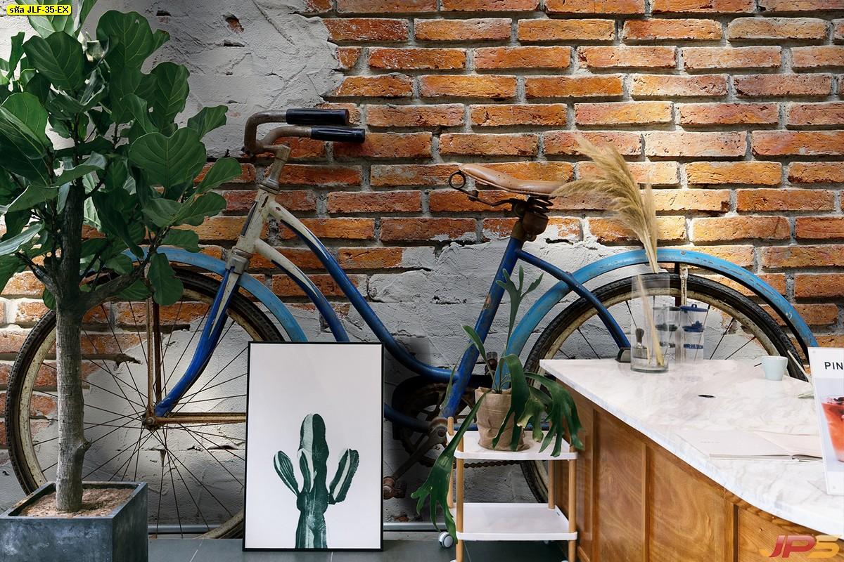 วอเปอร์เปอร์สวยๆติดผนัง ลายลอฟท์+จักรยาน