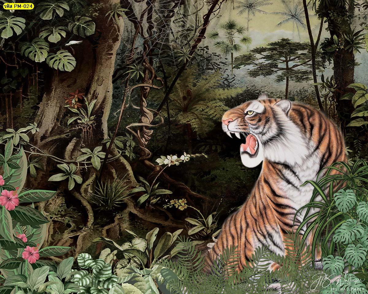 วอลเปเปอร์ภาพเสือ ลายวอลเปเปอร์ยอดฮิต วอลเปเปอร์wallpaper