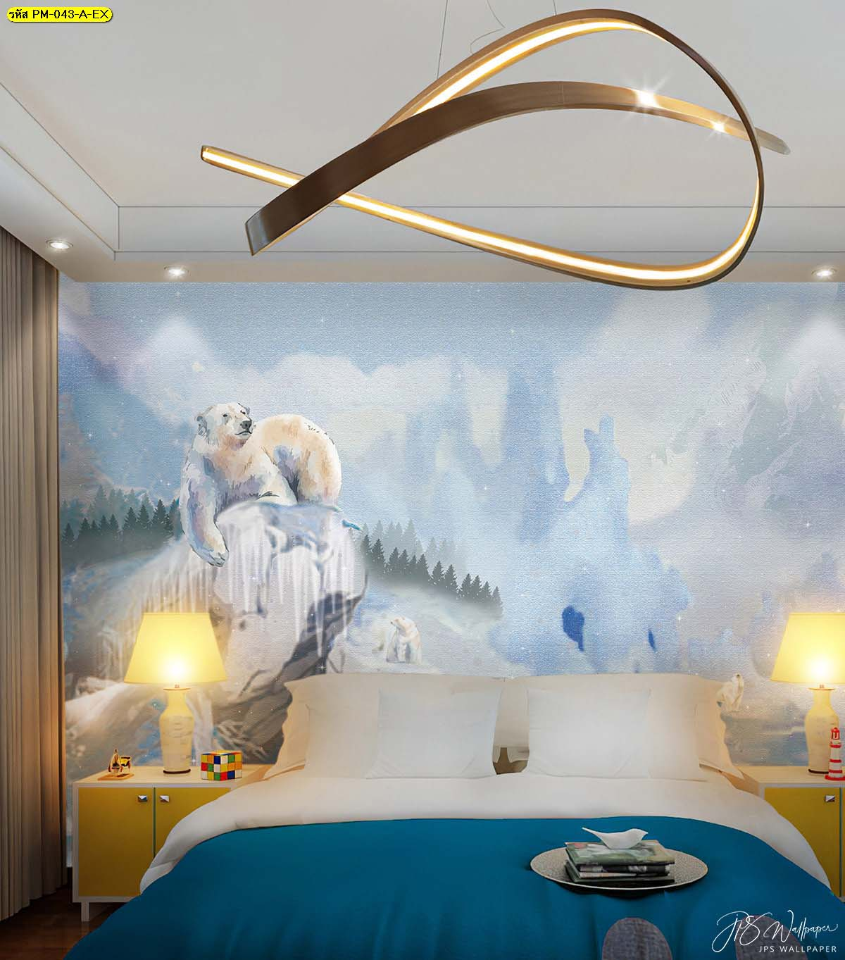 ภาพสั่งพิมพ์ลายหมีขั้วโลก
