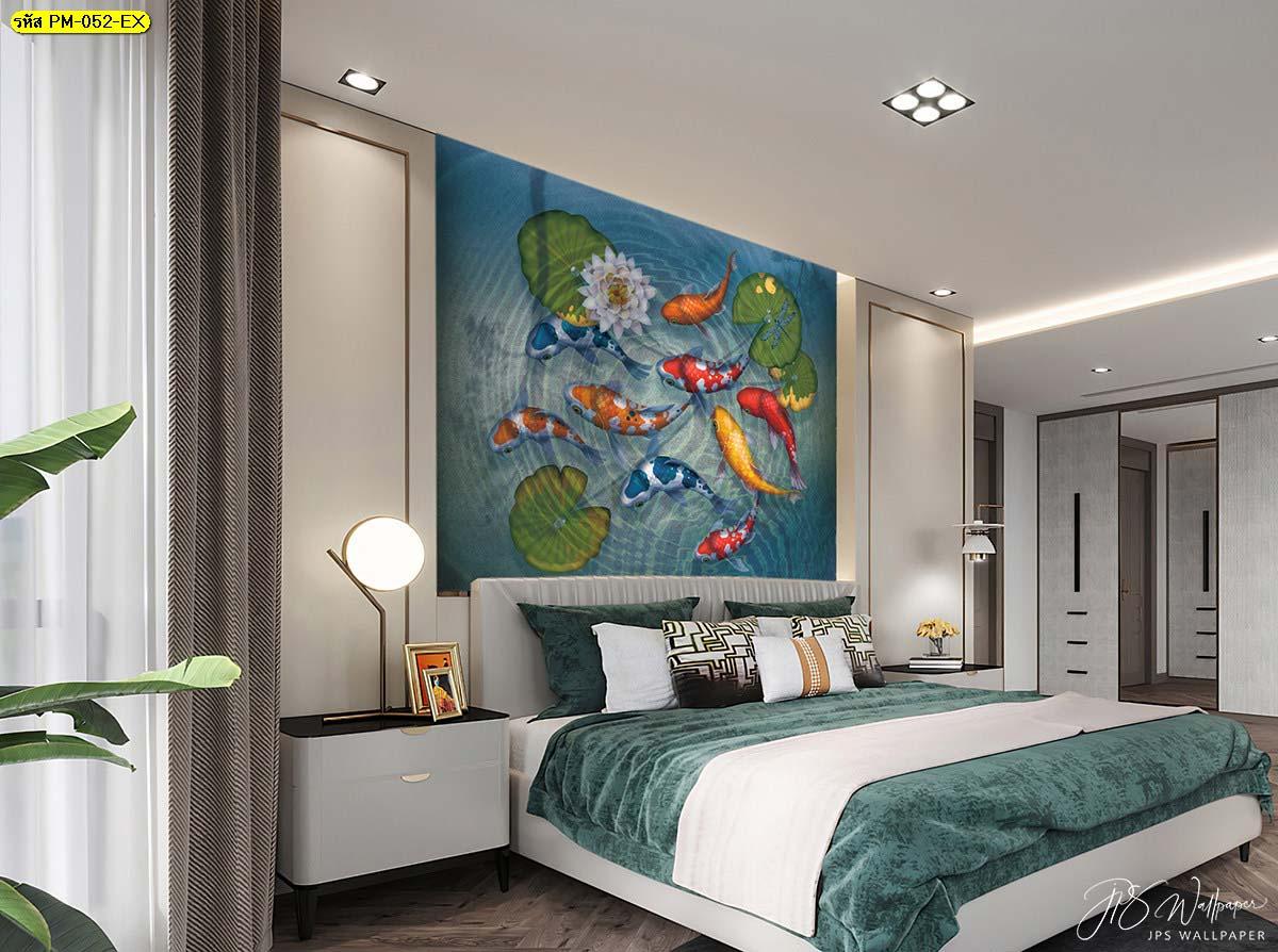 ไอเดียห้องนอนสไตล์จีน ภาพวาดฝาผนังบ้าน ภาพติดผนังสวยๆ