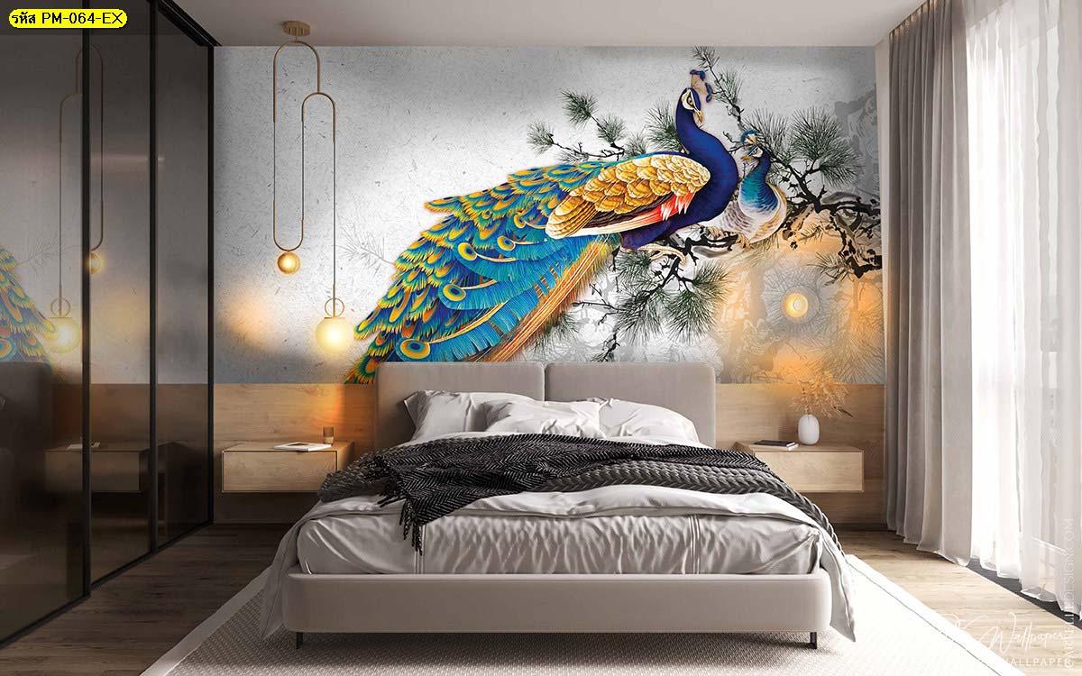 สั่งพิมพ์ภาพติดผนังห้องนอน วอลเปเปอร์ห้องนอนสวยๆ สั่งพิมพ์ภาพฮวงจุ้ย