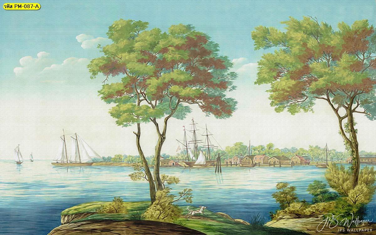 วอลเปเปอร์ติดผนัง ภาพสั่งพิมพ์ติดผนัง ภาพสั่งพิมพ์ป่าไม้