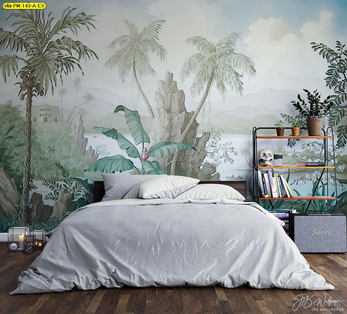 ไอเดียแต่งห้องนอนมินิมอล ไอเดียติดวอลเปเปอร์ห้องนอน วอลเปเปอร์ห้องนอนสวยๆ