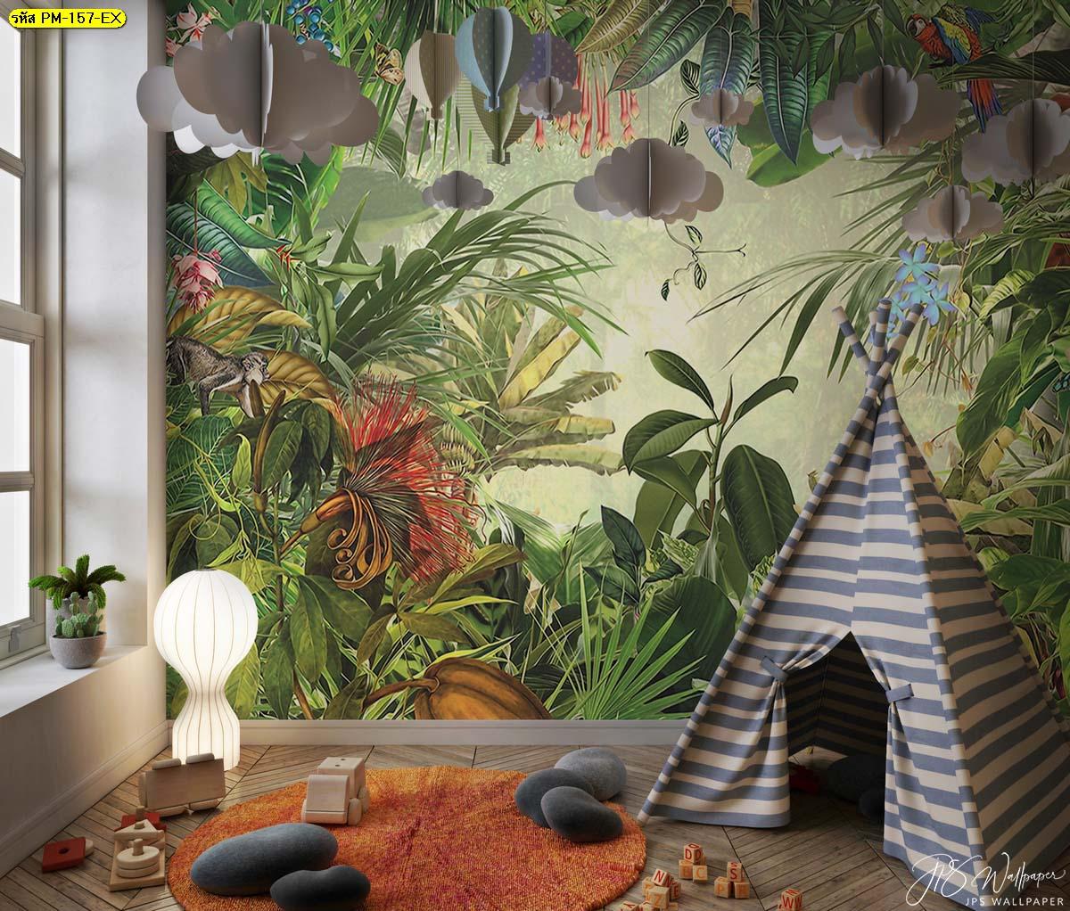 วอลเปเปอร์รูปป่า วอลเปเปอร์ติดห้องนอน ภาพติดผนังสวยๆ