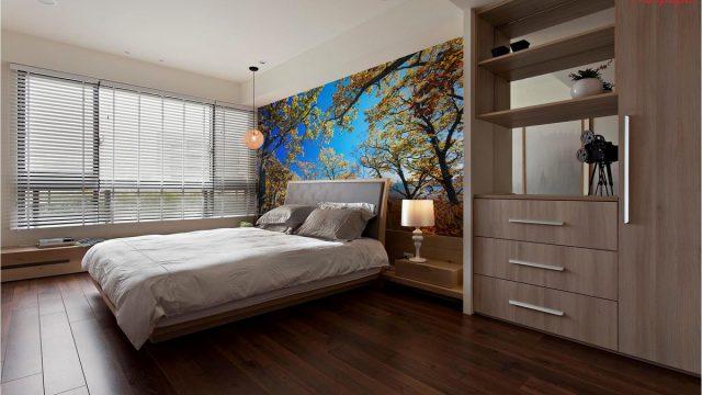 ติดวอลเปอร์สวย ติดผนัง ติดหัวเตียง ลายต้นไม้